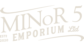 Minor 5 Emporium Logo